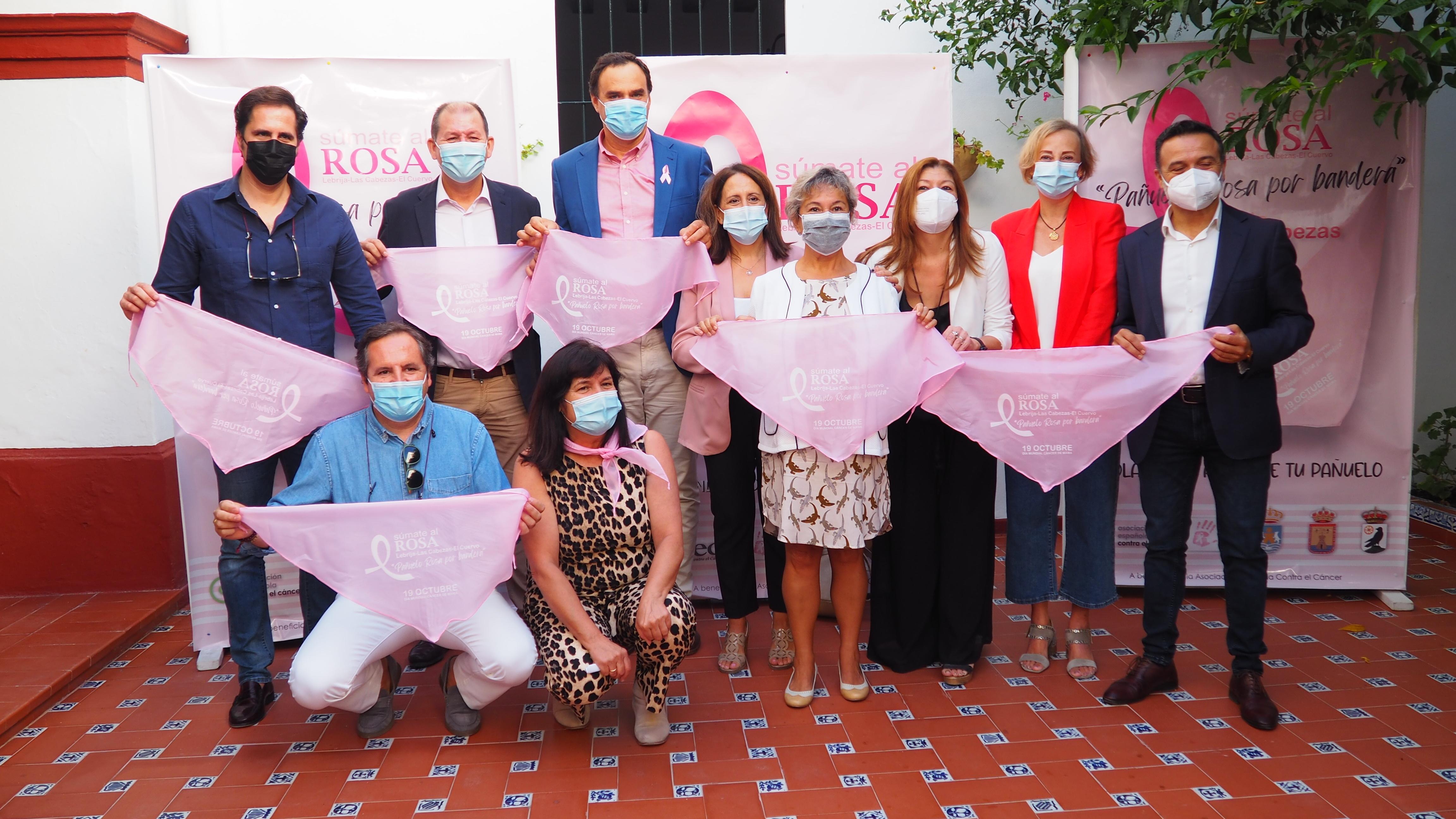 """""""Pañuelo Rosa por bandera"""", el lema de la nueva campaña con motivo del Día Internacional del Cáncer de Mama."""
